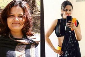 Cô nàng béo 92kg 'biến hình' xinh đẹp khi xuống cân còn 60kg nhờ bí quyết giảm cân siêu đơn giản