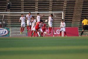 U22 Việt Nam 0 - 1 U22 Indonesia: Cừu non gặp sói già