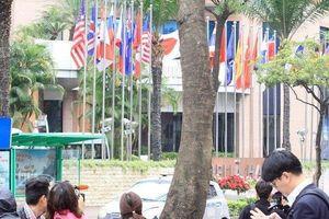 Phái đoàn an ninh Triều Tiên tiến về khách sạn Melia