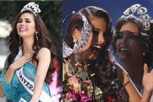 Loạt sự cố hy hữu về chiếc vương miện khiến các Hoa hậu dở khóc dở cười