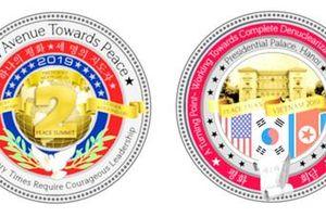 Hoa Kỳ phát hành đồng xu kỷ niệm cho cuộc gặp thượng đỉnh Hoa Kỳ - Triều Tiên lần thứ 2