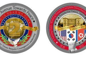 Nhà Trắng giới thiệu đồng xu kỷ niệm Hội nghị Thượng đỉnh Mỹ-Triều