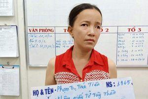 Tóm gọn 'nữ quái' đánh thuốc mê, trộm tài sản tại bến xe Miền Đông