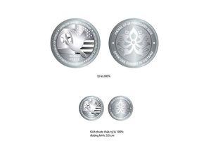 Hình ảnh chi tiết 3 đồng xu kỷ niệm Hội nghị thượng đỉnh Mỹ - Triều Tiên