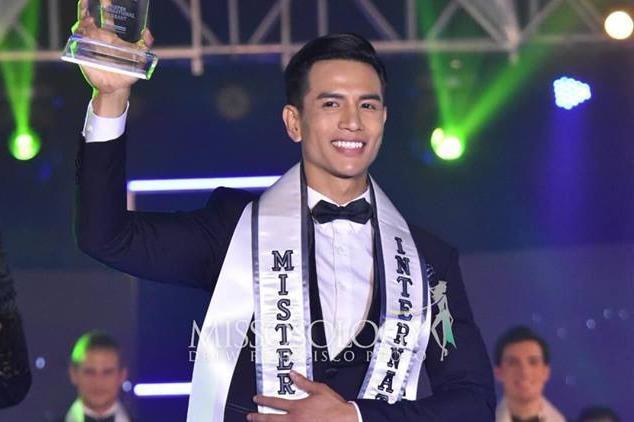 Người mẫu Việt đăng quang Mister International 2019