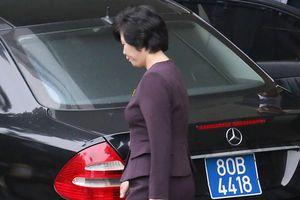 Nhiều gương mặt mới của phái đoàn Triều Tiên xuất hiện tại Hà Nội