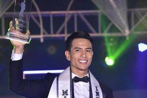 Siêu mẫu Trịnh Bảo đăng quang Nam Vương Mr International 2019