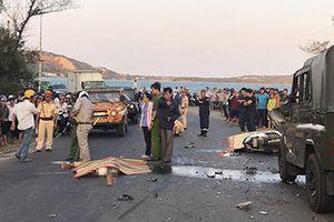 Hai cảnh sát tử vong do ô tô va xe máy