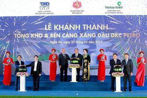 Khánh thành Tổng kho xăng dầu hiện đại bậc nhất miền Trung