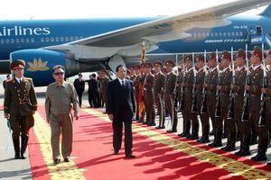 Hình ảnh Tổng Bí thư Nông Đức Mạnh thăm Triều Tiên năm 2007