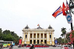 Hà Nội treo 4.000 băng rôn phục vụ Hội nghị thượng đỉnh Mỹ - Triều