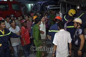 Cà Mau: Lơ xe nổ máy khiến xe khách tông 6 người thương vong