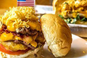 200.000 đồng cho chiếc burger 'Durty Donald' dịp Hội nghị Thượng đỉnh Mỹ-Triều