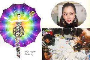 Nhật Hà khiến fan 'phát sốt' khi hình ảnh trang phục dân tộc ở Miss Int' Queen 2019 bị rò rỉ