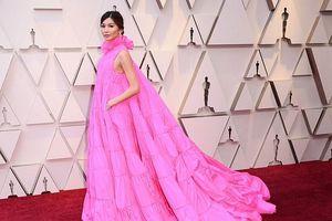 Nam diễn viên 'gây sốt' khi diện đầm xòe như công chúa tại lễ trao giải Oscar 'ăn đứt' dàn sao xinh đẹp