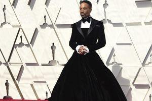 'Choáng' với đầm quây ngực của nam diễn viên Billy Porter trên thảm đỏ Oscar