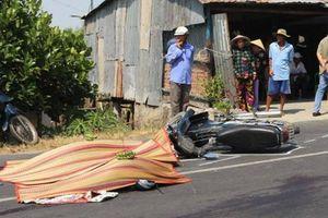 Cha chồng và con dâu chết thảm dưới bánh xe bồn sau va chạm