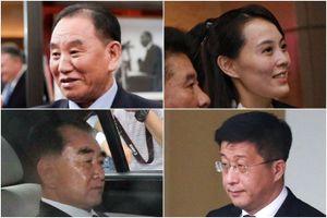 Những nhân vật quan trọng theo Kim Young Un đến Hà Nội