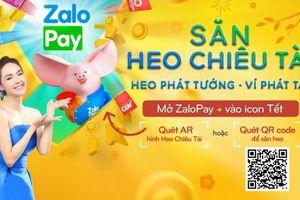 Tung chiến dịch Tết 2019, ZaloPay tạo cơn sốt lì xì qua ví điện tử