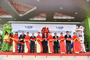 VSIP Bac Ninh holds ground opening ceremony of office building
