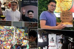 Nở rộ dịch vụ 'ăn theo' cuộc gặp thượng đỉnh Mỹ-Triều
