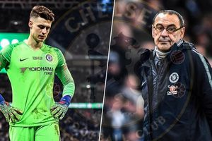 Chelsea thua chung kết League Cup: Số phận trêu ngươi Maurizio Sarri!