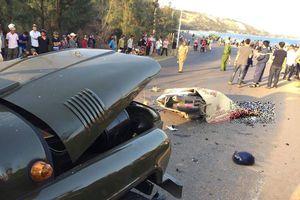 Xe máy va chạm xe Jeep, 2 chiến sĩ cảnh sát PCCC thiệt mạng