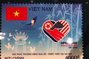 Phát hành bộ tem đặc biệt nhân Hội nghị Thượng đỉnh Mỹ - Triều Tiên tại Hà Nội
