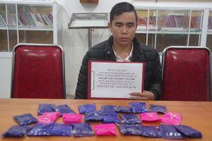 Nghệ An: Bắt đối tượng mua bán gần 4.800 viên ma túy