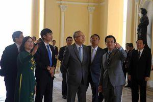Chánh án Tòa án Tối cao Thái Lan thăm TAND TP.HCM
