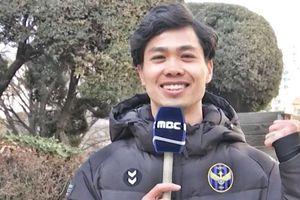 Công Phượng nói về thời tiết Hà Nội trên truyền hình Hàn Quốc