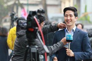 Nam PV Hàn Quốc điển trai như tài tử tác nghiệp Thượng đỉnh Mỹ - Triều
