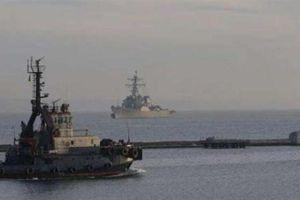 Mỹ điều tàu chiến sát nách Nga, tập trận chung Ukraine