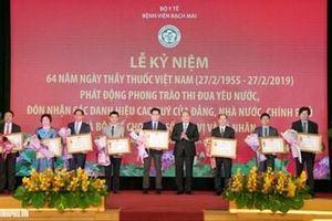 Thủ tướng Nguyễn Xuân Phúc dự Lễ kỷ niệm 64 năm Ngày Thầy thuốc Việt Nam tại Bệnh viện Bạch Mai