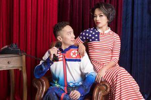 Ca sĩ Thái Thùy Linh duyên dáng bên áo dài thượng đỉnh Mỹ-Triều