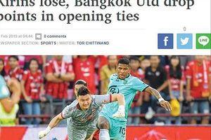 Văn Lâm được chấm điểm cao nhất trận ra mắt Thai – League