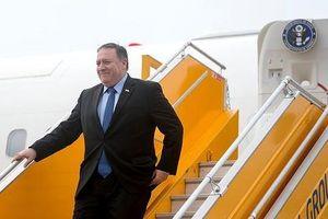 Ngoại trưởng Mỹ Mike Pompeo đã tới Hà Nội