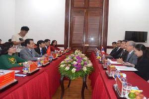Chánh án TATC Thái Lan mong muốn hợp tác chiều sâu với TAND TP.HCM