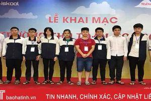13 thí sinh Hà Tĩnh dự kỳ thi chọn đội tuyển Olympic quốc tế 2019