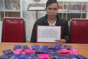 Nghệ An: Bắt thanh niên mua bán 4.800 viên ma túy tổng hợp