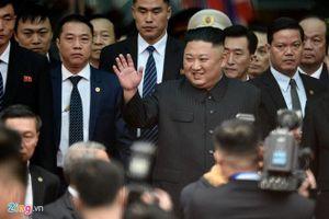 Chủ tịch Triều Tiên Kim Jong-un đã tới Việt Nam