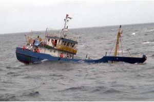 Chìm tàu cá, 2 ngư dân chết và mất tích sau va chạm trên biển