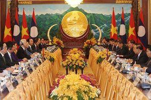 Tổng Bí thư, Chủ tịch nước kết thúc tốt đẹp chuyến thăm CHDCND Lào