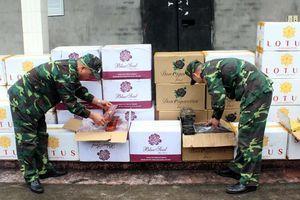 Quảng Ninh: Thu giữ 15.000 bao thuốc lá nhập lậu