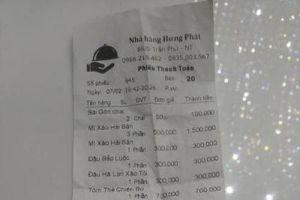 Nha Trang: Xử phạt nhà hàng bị tố 'chặt chém' du khách