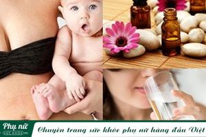 Những cách làm săn chắc làn da lỏng lẻo sau sinh bạn không thể bỏ qua