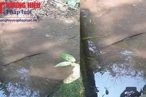 Bắc Kạn: Người dân phải dùng nước bẩn từ công trình nước sạch