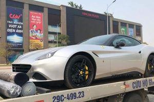 Bắt gặp Ferrari California T của Chủ tịch Trung Nguyên tại Hà Nội