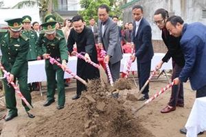 Bộ đội Biên phòng Hải Phòng chung tay xây nhà 'Mái ấm biên cương'