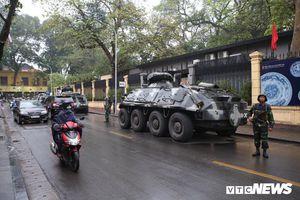 Hà Nội thắt chặt an ninh đón đoàn xe của Chủ tịch Kim Jong-un về dự thượng đỉnh Mỹ - Triều